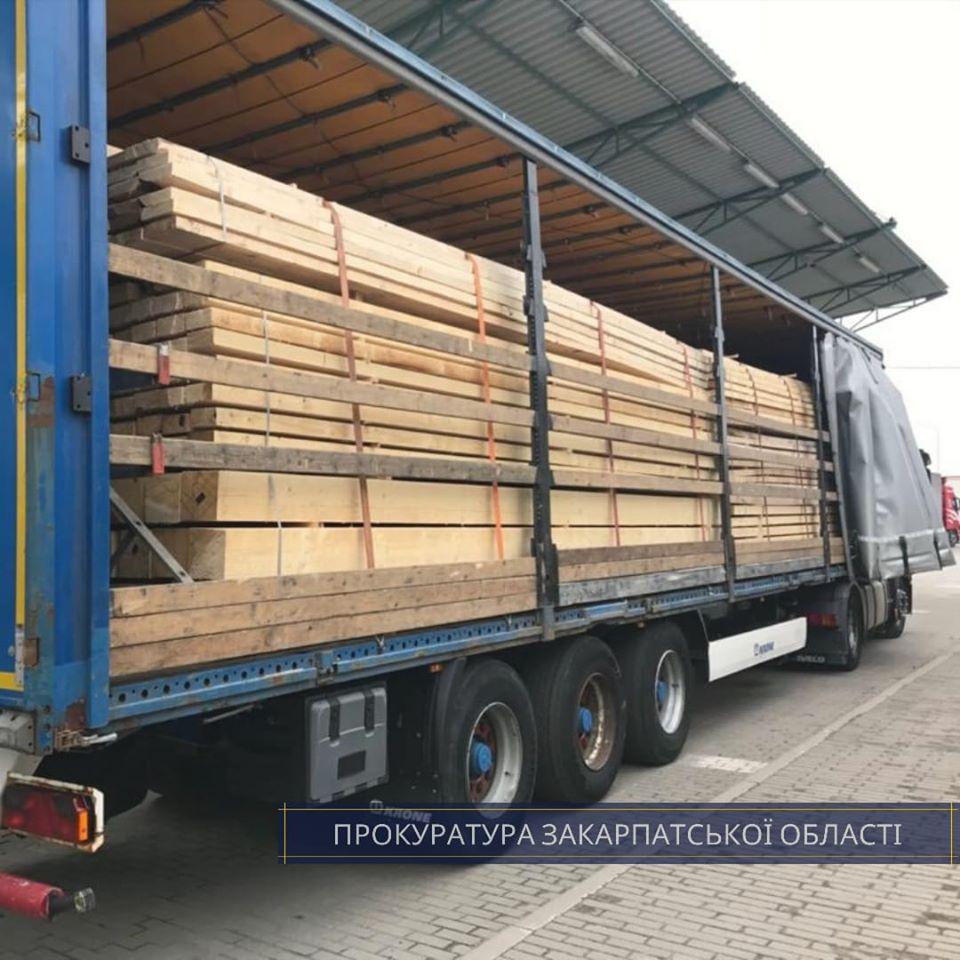 Правоохоронці викрили схему контрабандного вивезення деревини за кордон
