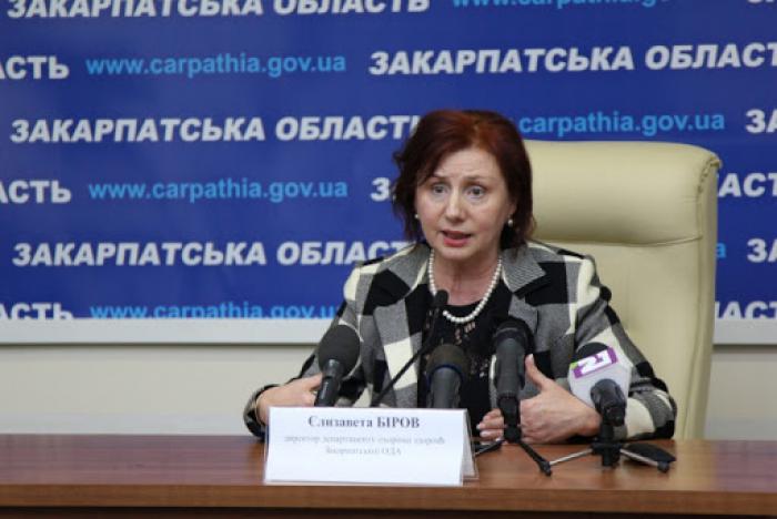 Єлизавету Біров прямо запитали, чи не приховують у Закарпатті випадки захворювання коронавірусом