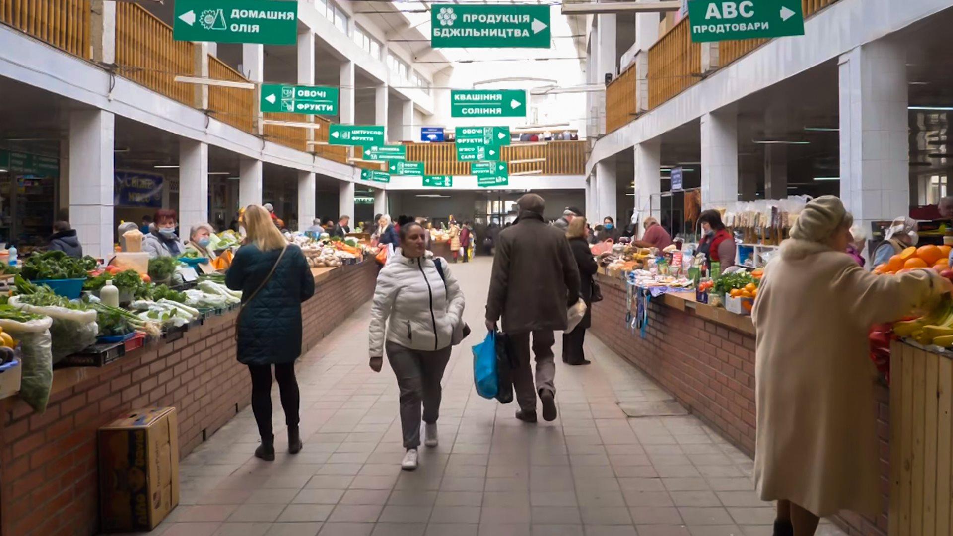 """Ужгородський """"Зелений базар"""" змінює графік роботи на час карантину"""