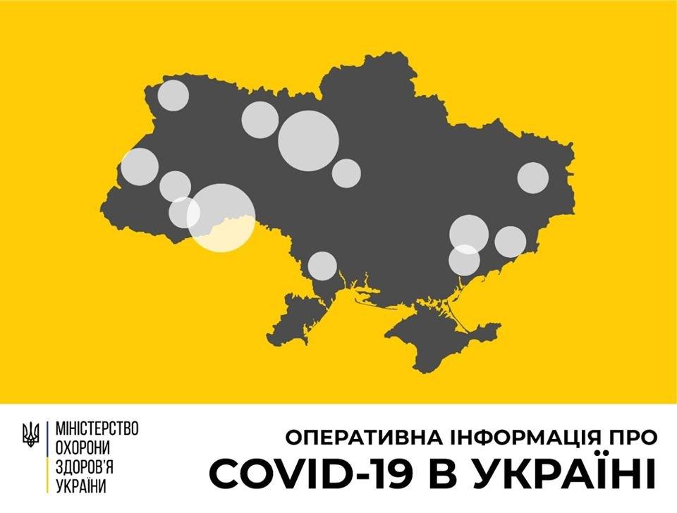 В Україні зросла кількість хворих на коронавірус, а померло від недуги вже 5 людей