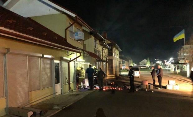 У Мукачеві вирувала пожежа