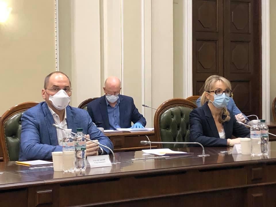 Міністри охорони здоров'я та фінасів подали у відставку, – Геращенко