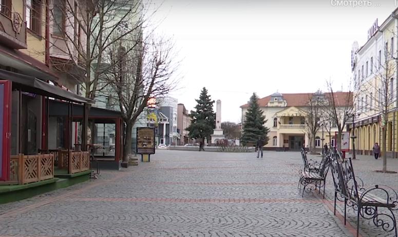 Суворий карантин: як сьогодні виглядало Мукачево