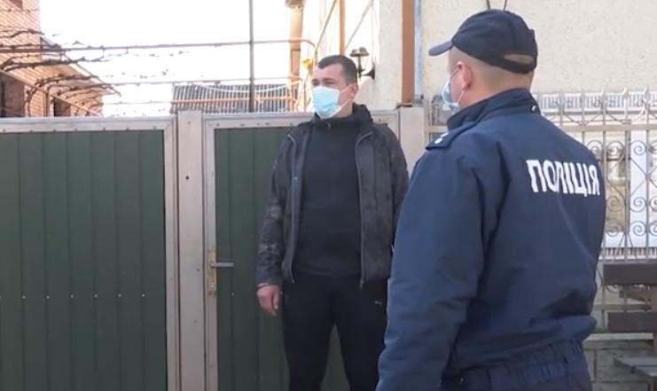 На Мукачівщині перевіряють, чи дотримуються люди самоізоляції