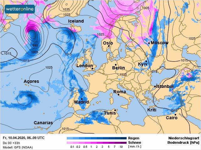 До Великодня в Україні очікуються дві хвилі похолодання