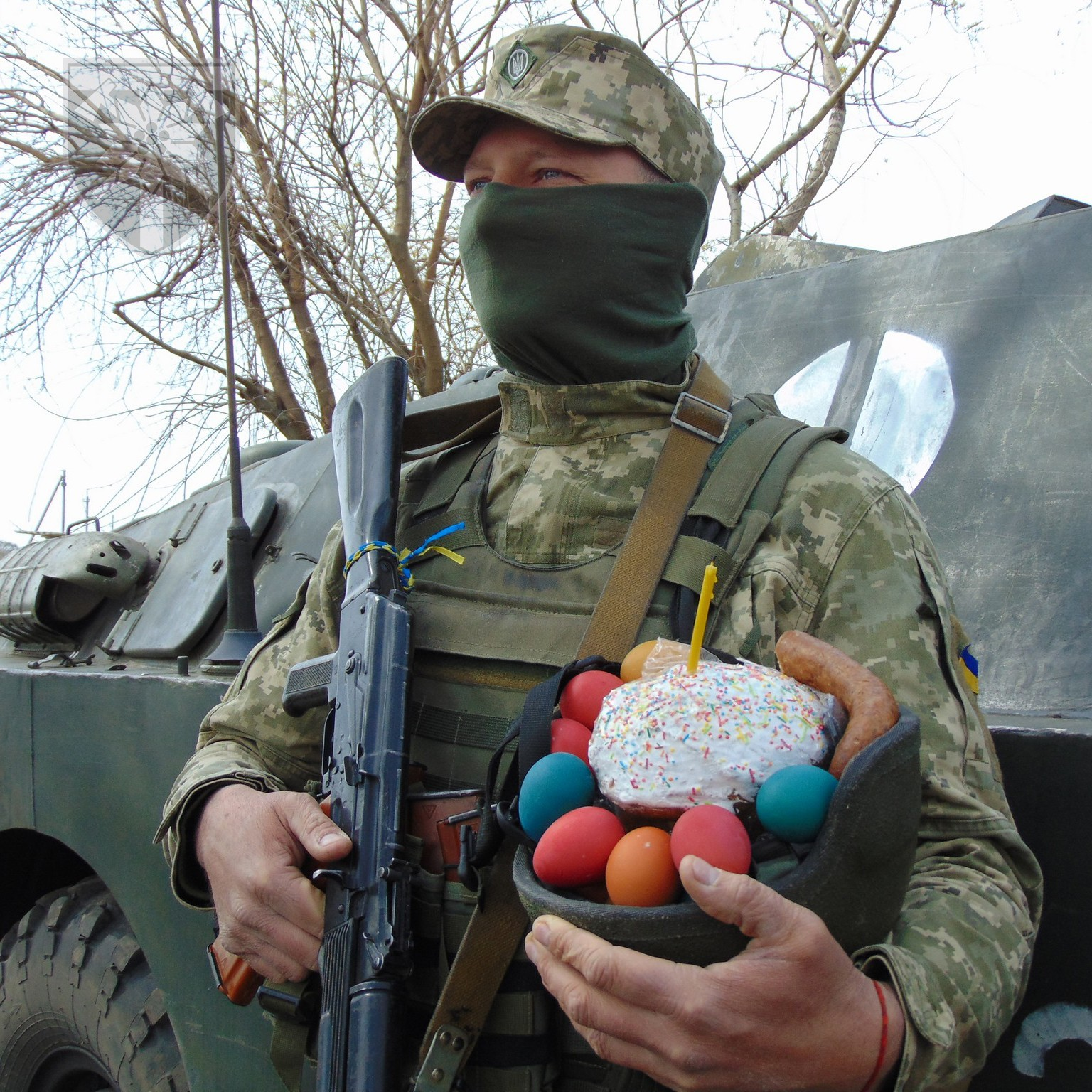 Як святкували Великдень закарпатські воїни на передовій