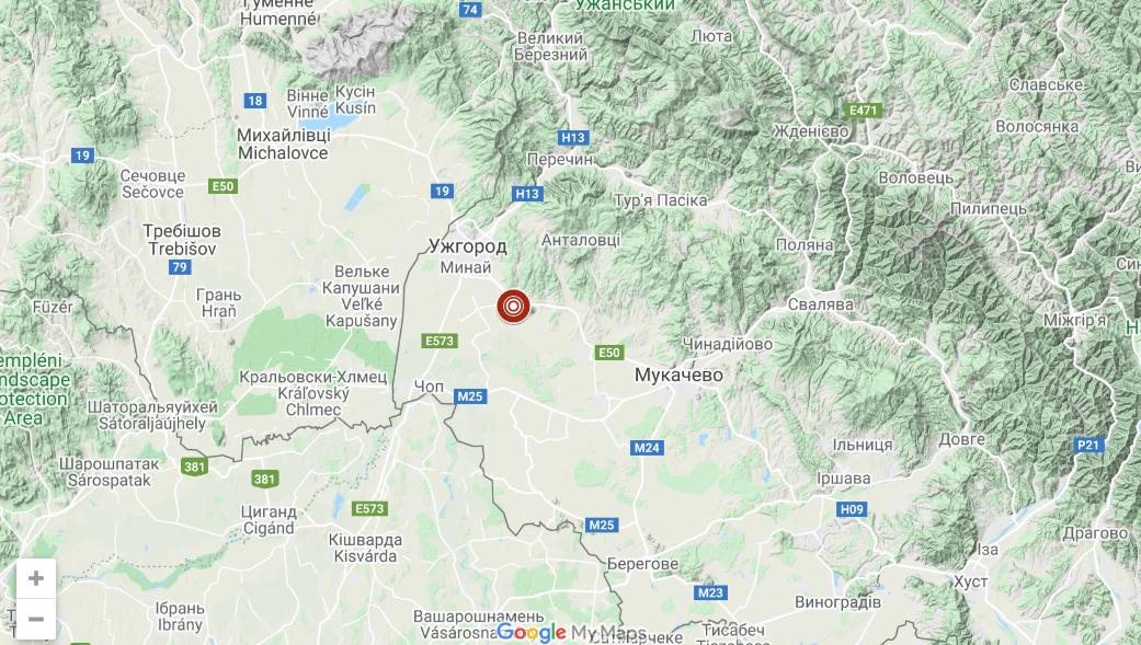 Вночі у Закарпатті стався землетрус: відомо, де саме
