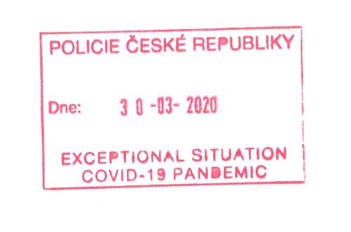 """Чехія запроваджує """"виїзні штампи"""", щоб громадяни могли легально виїхати з країни"""
