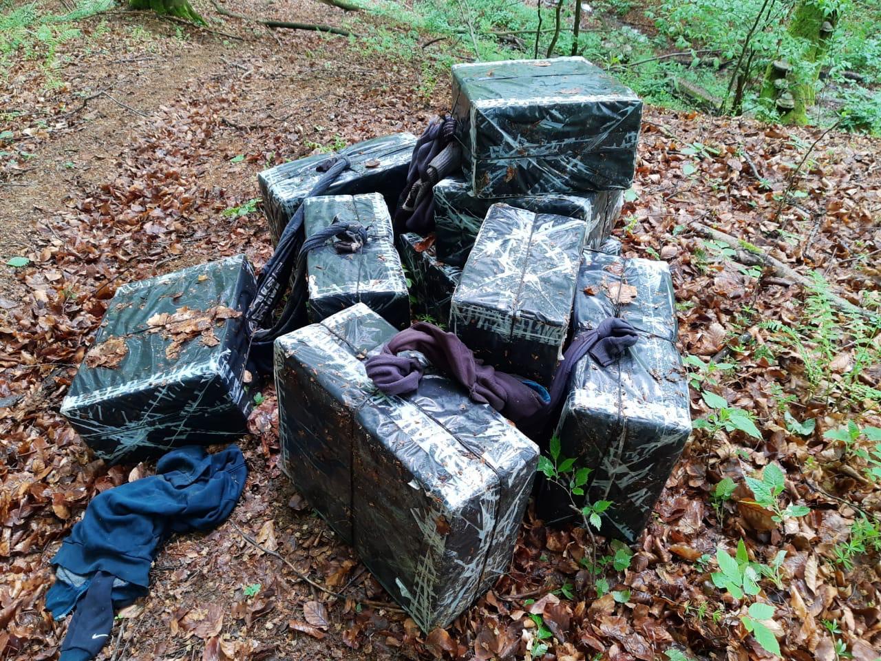 Поблизу українсько-румунського кордону виявили контрабандні сигарети