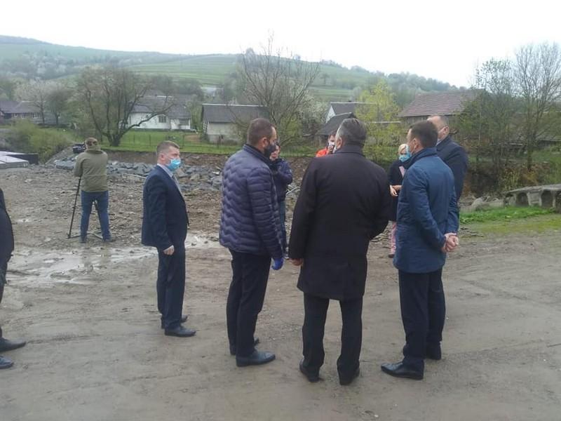 Голова Закарпатської ОДА поїхав у Воловецький район