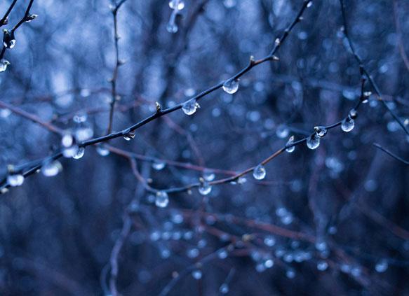 Гідрометеоцентр попереджає про сильні опади у найближчу ніч