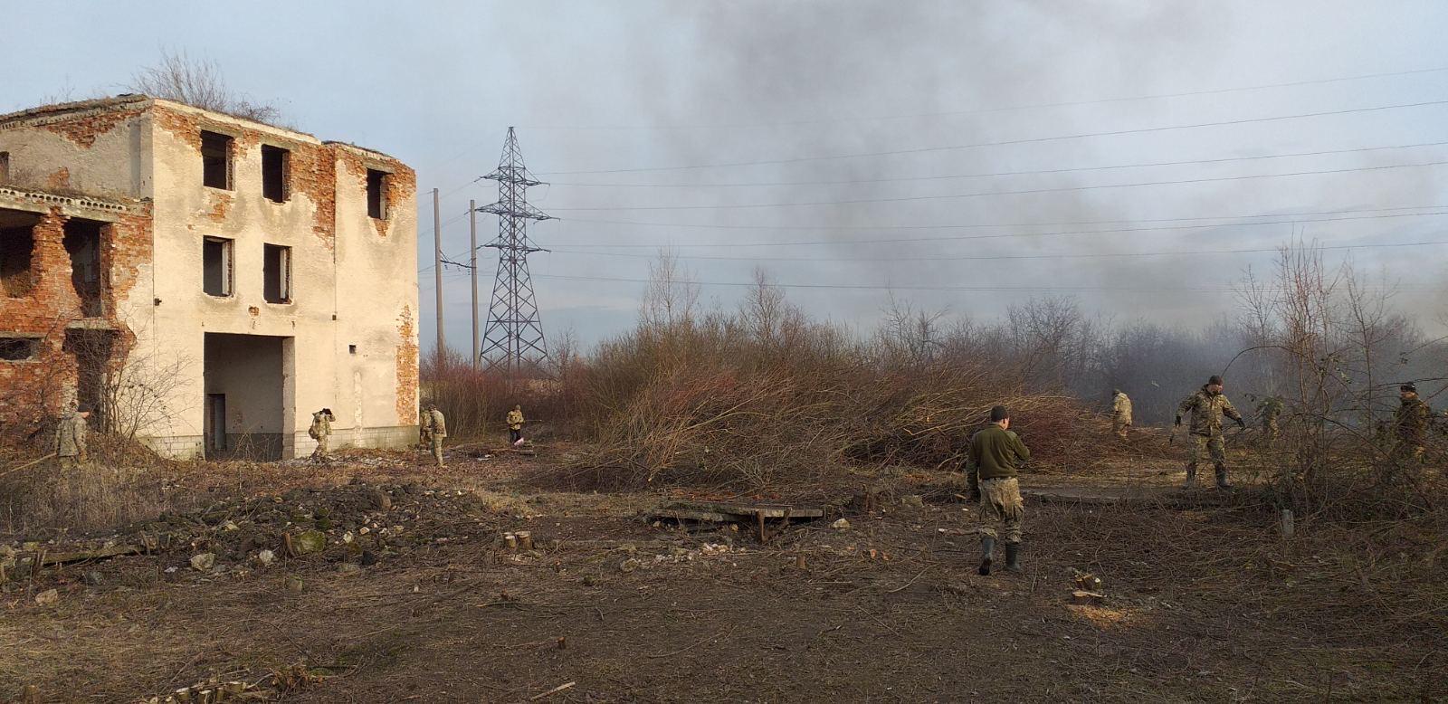 У Берегові дислокуватиметься військова частина десантно-штурмових військ ЗС України