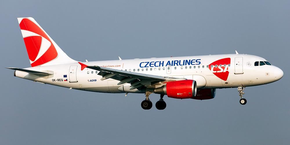 Чеська авіакомпанія планує відновити рейси з Праги у два міста України
