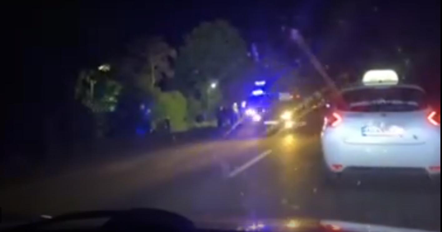 З'явилося відео з місця моторошної аварії на Мукачівщині