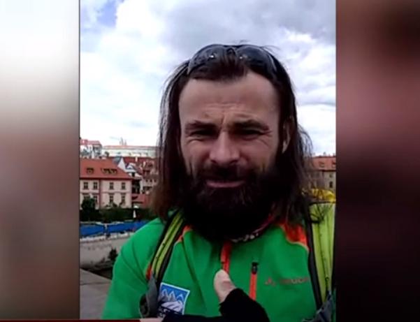 Закарпатець на велосипеді поїхав у Прагу