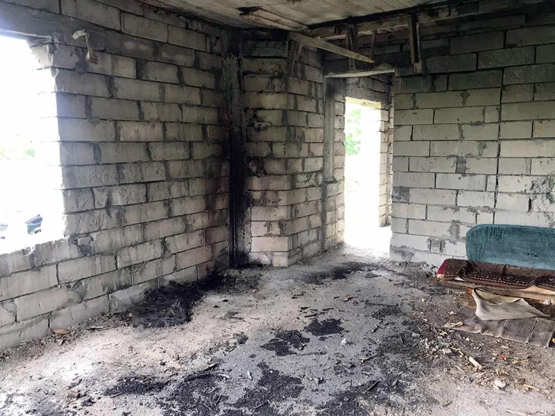 У селі на Ужгородщині виникла пожежа