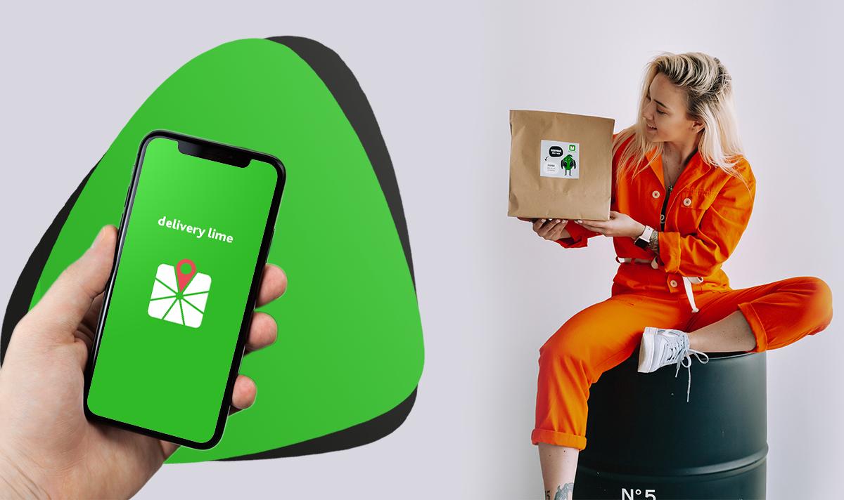 Сервіс доставки їжі та продуктів Delivery Lime заполонив Ужгород