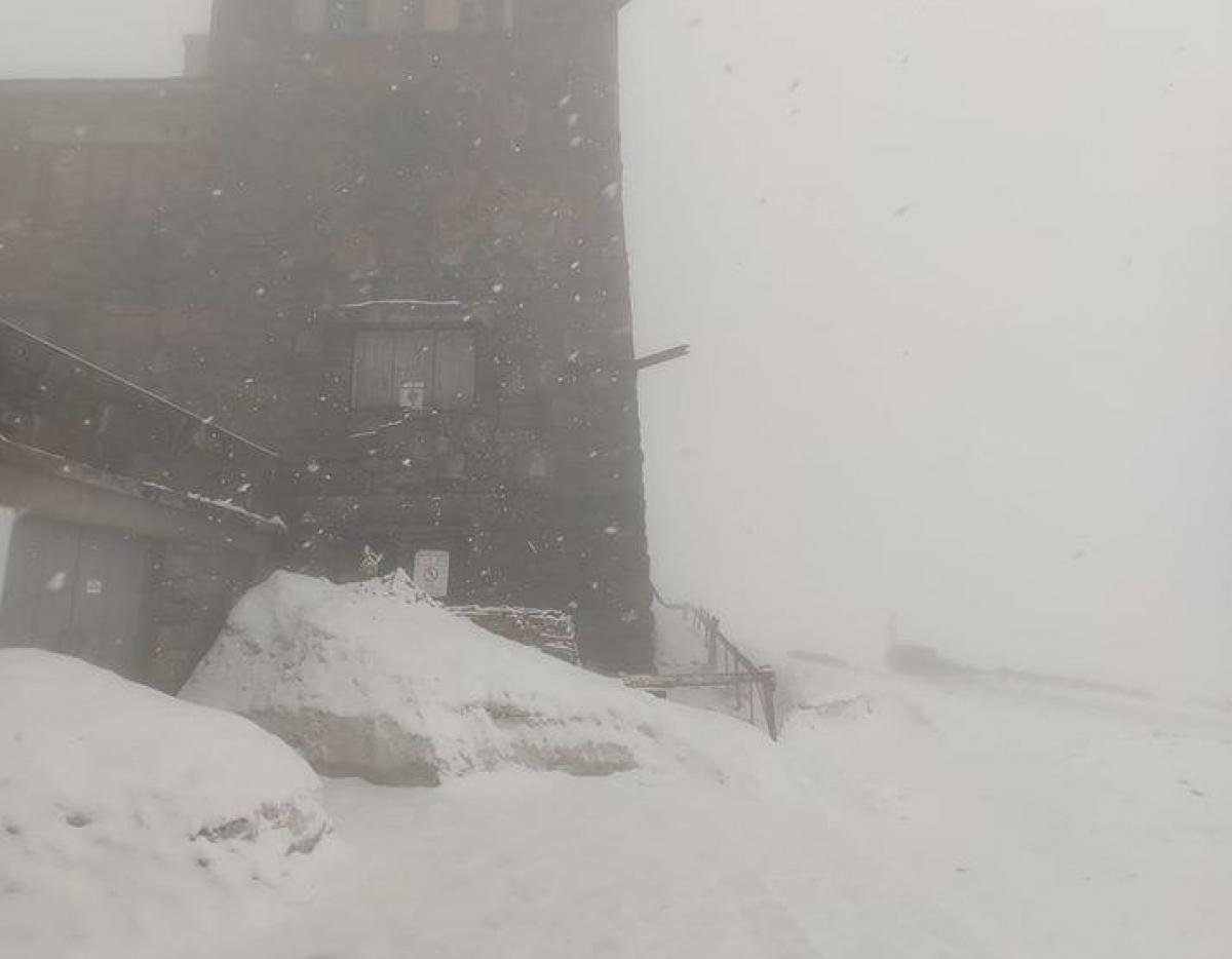 За тиждень до літа, на високогір'ї Карпат панує зима