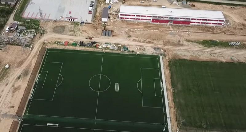 На Мукачівщині триває будівництво футбольної академії