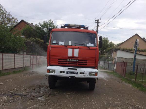 Рятувальники провели дезінфекцію у селі Липча