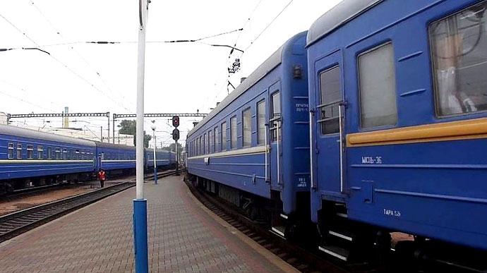 З наступного тижня почне курсувати потяг Київ-Ужгород