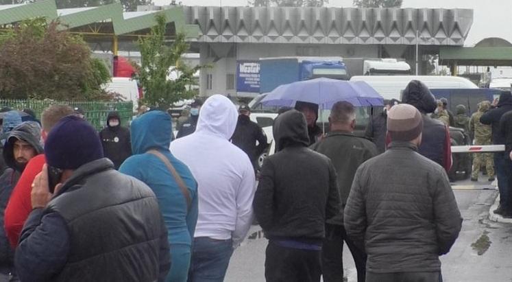 """Протести на КПП """"Тиса"""": усі подробиці конфлікту"""