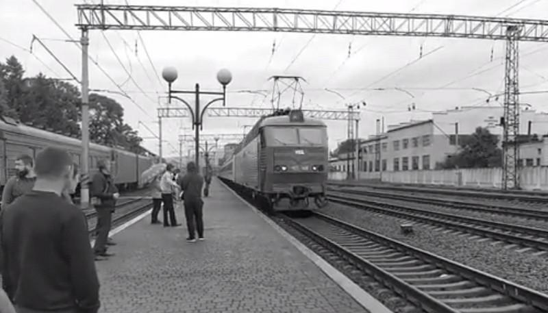 На Закарпаття 5 червня прибув потяг Київ-Ужгород