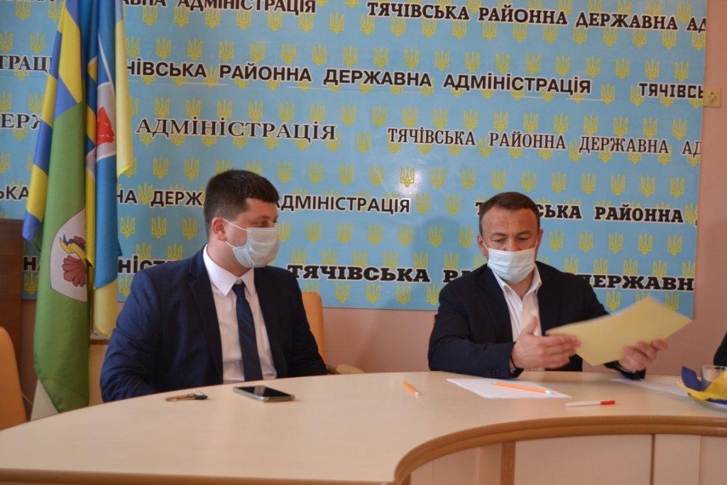 Представлено нового голову Тячівської РДА