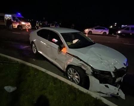 Вночі у Мукачеві сталась аварія поблизу поста ДАІ