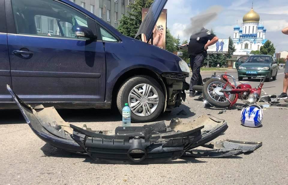 Оприлюднено відео жахливої аварії в Ужгороді