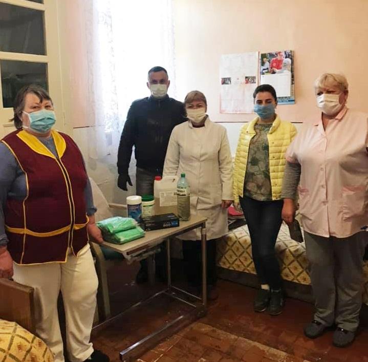 СТОВ «Агро-Лучки» надало допомогу засобами індивідуального захисту Ракошинській сільській раді