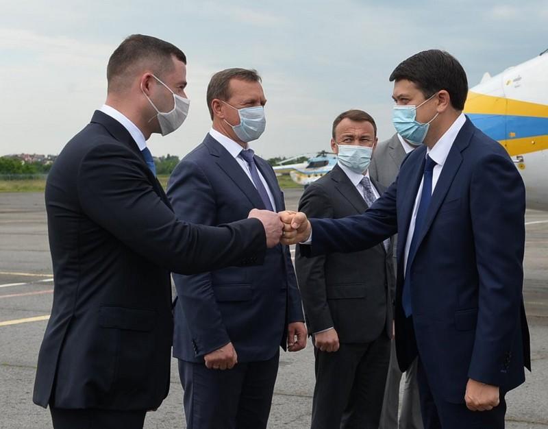 Голова Верховної Ради України прилетів на Закарпаття