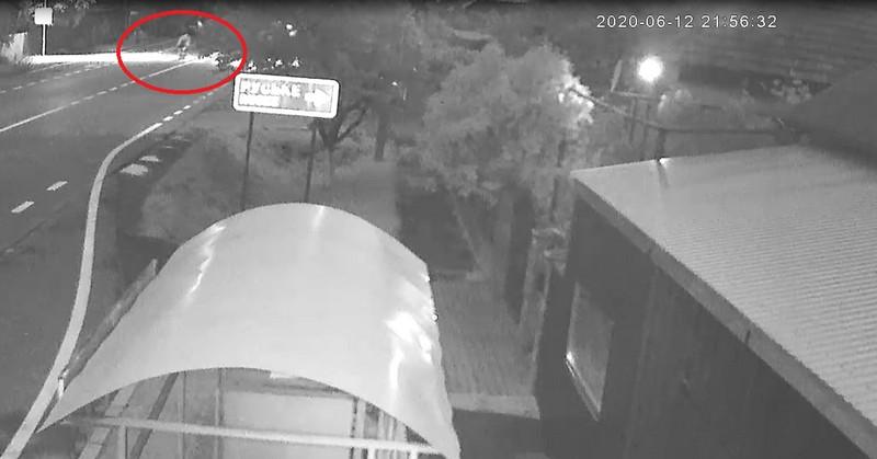 Смертельна ДТП біля Ракошина за участі поліцейського: відео з камер спостереження