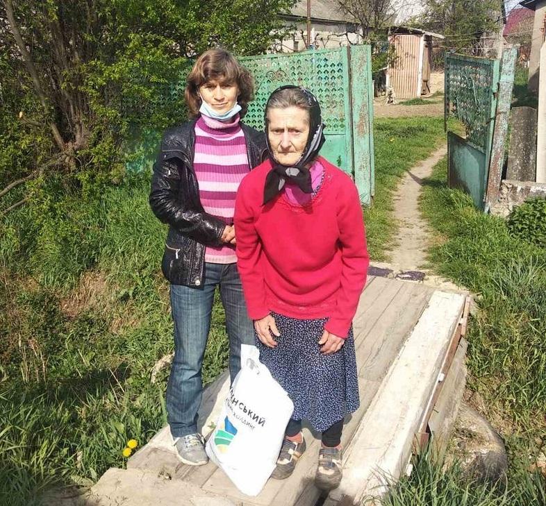 Підтримали найбільш вразливих мешканців села Ратівці