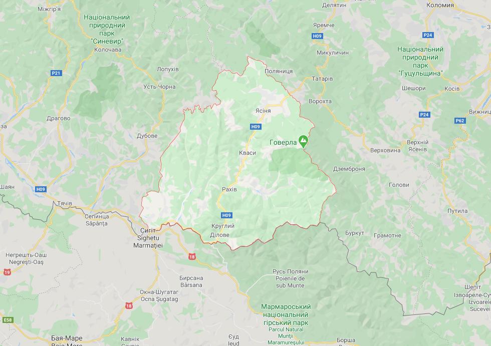 Комітет Верховної Ради погодив шостий район у Закарпатській області