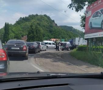 На в'їзді в Мукачево біля поста ДАІ сталася аварія