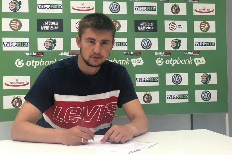 Футболіст із Мукачева підписав контракт із угорським клубом