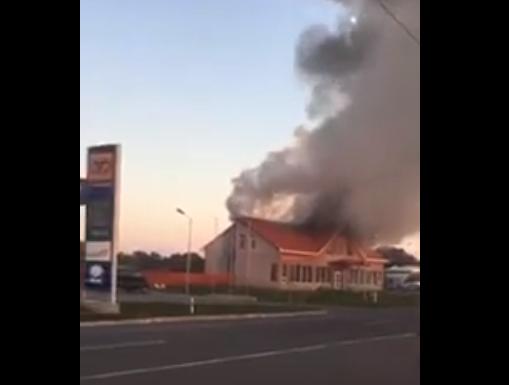 """Поблизу КПП """"Тиса"""" ввечері спалахнула пожежа"""
