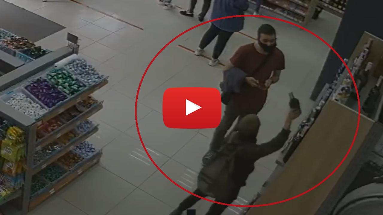 У магазинах Ужгорода хлопчик краде алкоголь і продукти: оприлюднено відео з камер спостереження