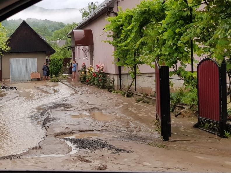 У кількох селах Мукачівського та Свалявського районів негода наробила лиха