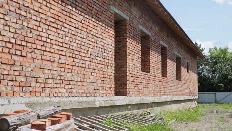 В одному із сіл Великоберезнянського району будують новий дитсадок
