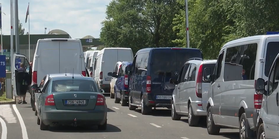 Перетин українсько-угорського кордону: на яких КПП найменші черги