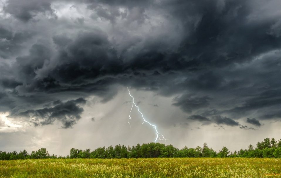 Штормове попередження: на Закарпаття насуваються грози