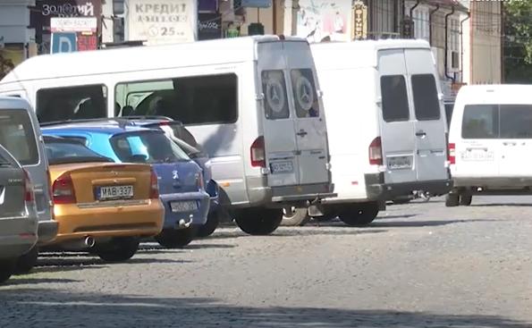 У Виноградові взялись за порушників правил паркування