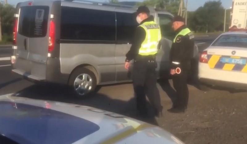 Що коїлося вранці біля Нижнього Солотвина: опубліковано відео