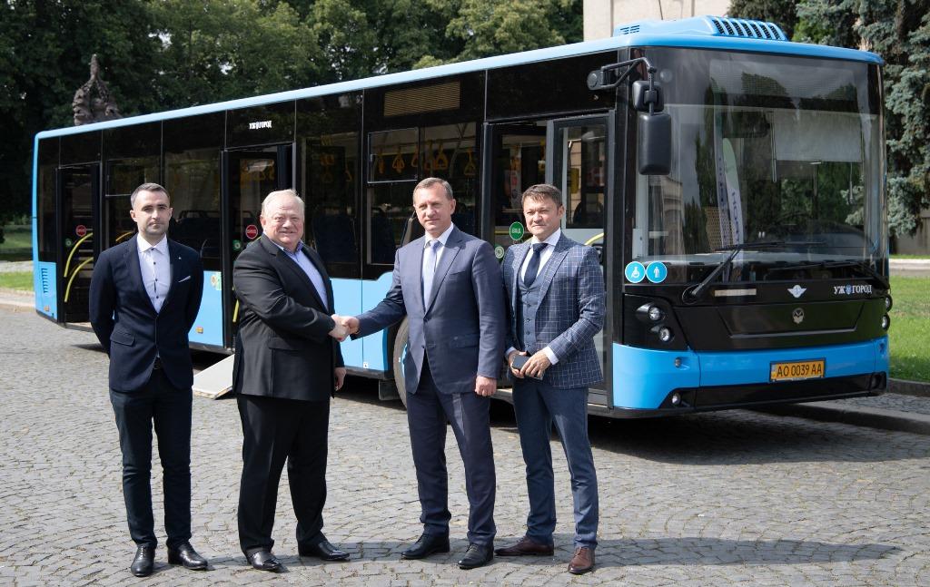 """Ужгород придбає ще 7 автобусів """"Електрон"""""""