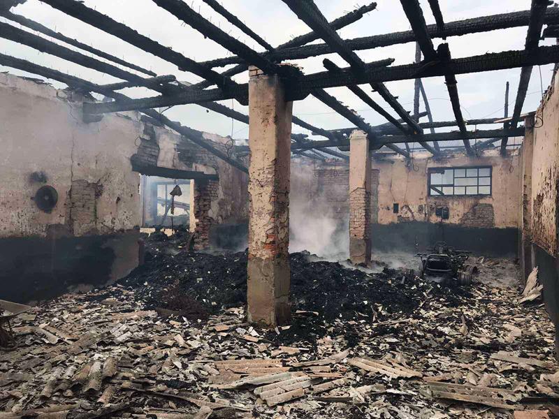 У неділю в селі вирувала велика пожежа