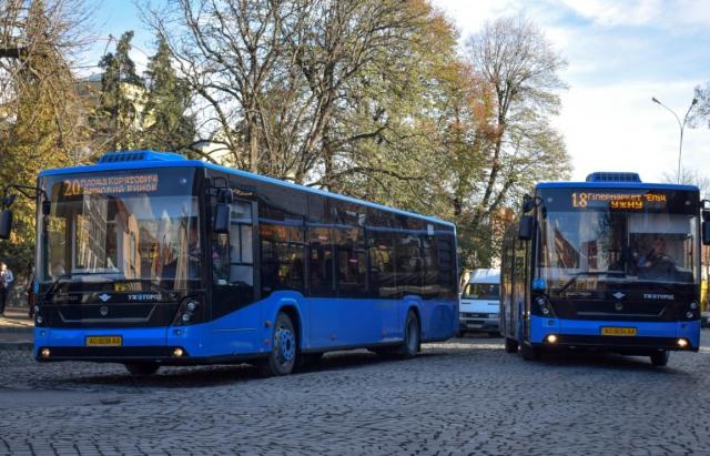 В Ужгороді прийняли рішення щодо курсування громадського транспорту у вихідні дні