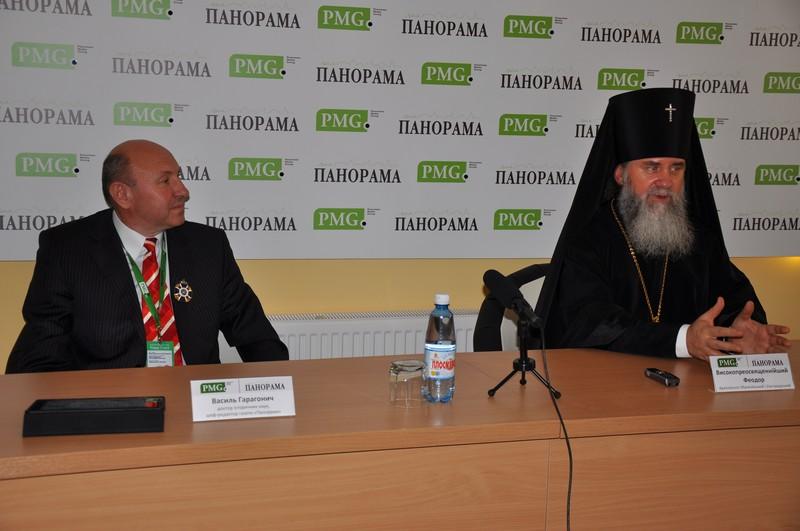 Митрополит Феодор висловив співчуття у зв'язку зі смертю Василя Гарагонича