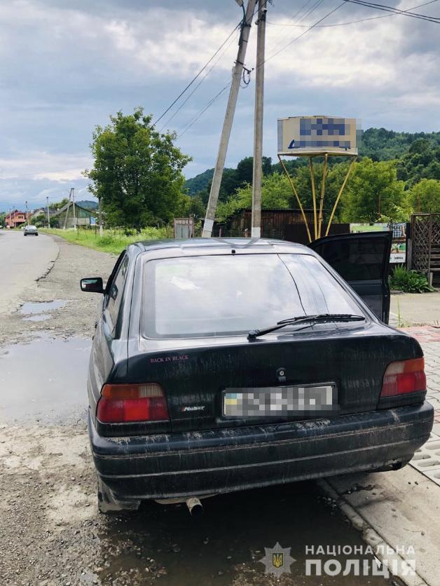 На Рахівщині правоохоронці затримали водія з підробленими документами